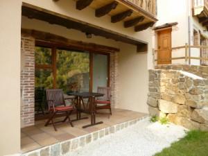 Casa Fuego - porch
