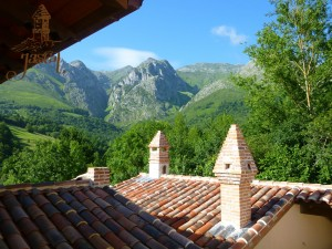 Summertime in Jascal, Picos country cottages in Asturias