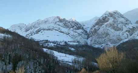 Picos Europa snow