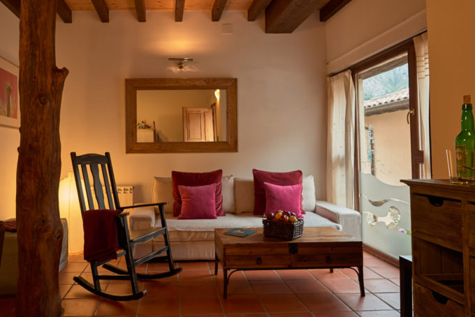 Casa Tierra sitting room